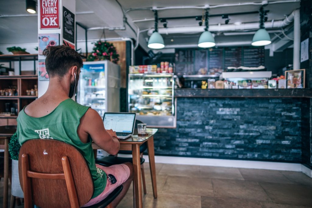 work from anywhere as a freelancer